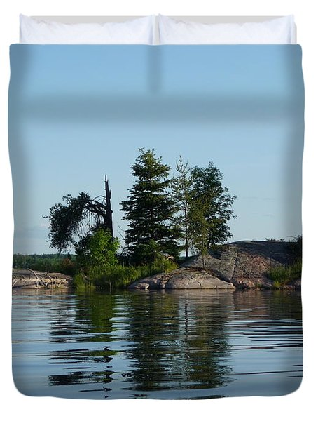 Natural Breakwater Duvet Cover