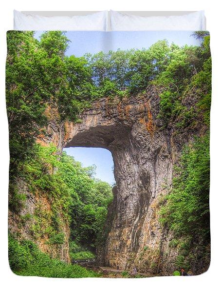 Natural Bridge - Virginia Landmark Duvet Cover