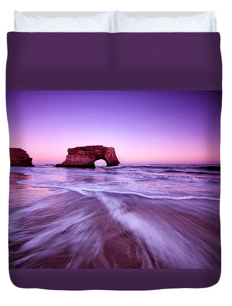 Natural Bridges Duvet Cover