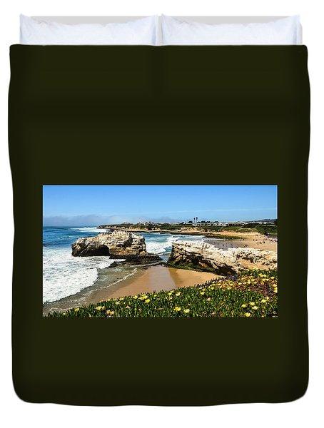 Natural Bridges State Park Beach Duvet Cover