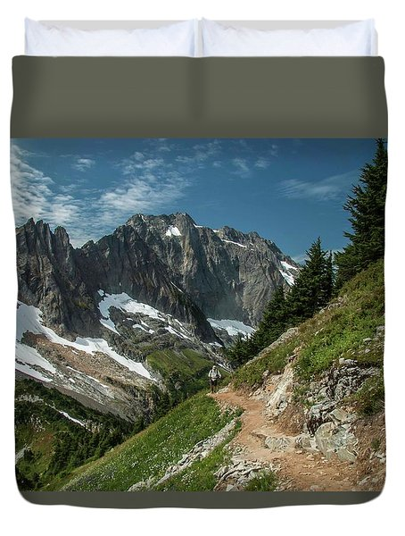 Natural Cathedral Duvet Cover