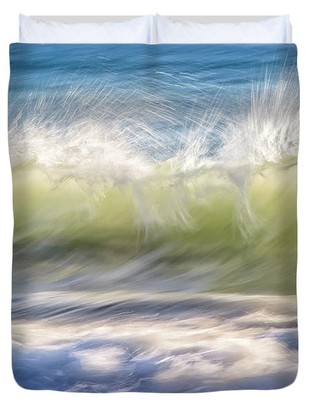 Natural Chaos, Quinns Beach Duvet Cover