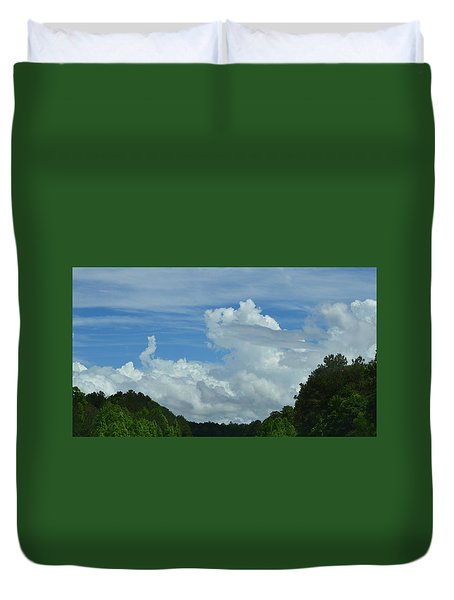 Natural Clouds Duvet Cover