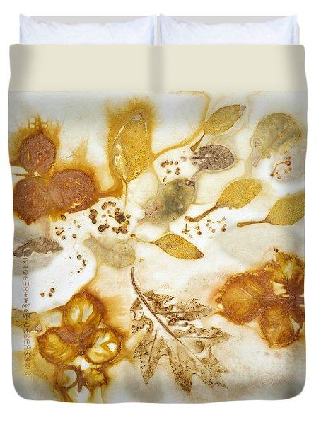 Natural Elements 2 Duvet Cover by Lynda Hoffman-Snodgrass