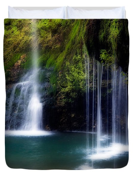 Natural Falls Duvet Cover