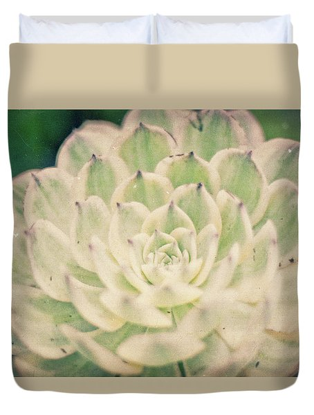 Duvet Cover featuring the photograph Natural Geometry by Ana V Ramirez