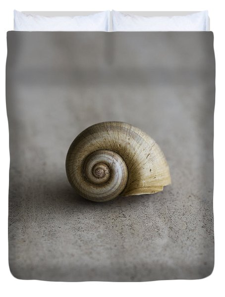 Duvet Cover featuring the photograph Natural by Laura Fasulo