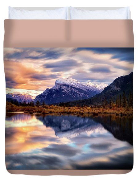 Natural Mirror Duvet Cover