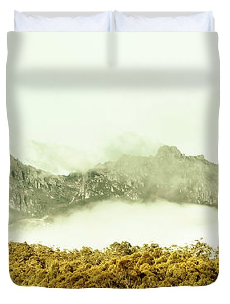 Natural Mountain Beauty Duvet Cover