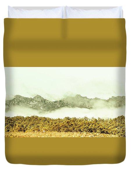 Natural Mountain Beauty Duvet Cover