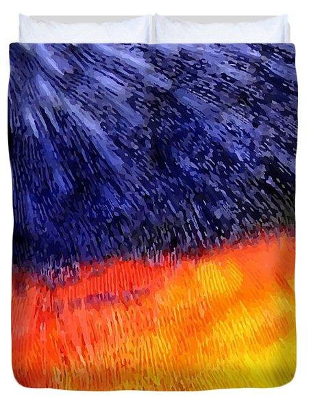 Natural Painter Duvet Cover
