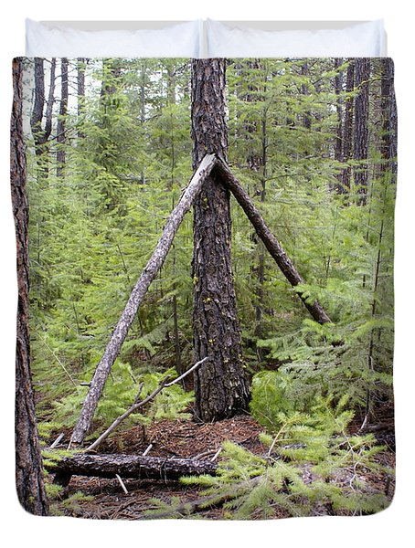 Natural Peace In The Woods Duvet Cover