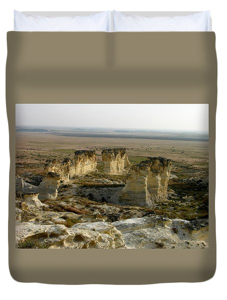 Natural Stonehenge Duvet Cover