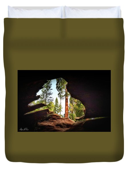 Natural Window Duvet Cover