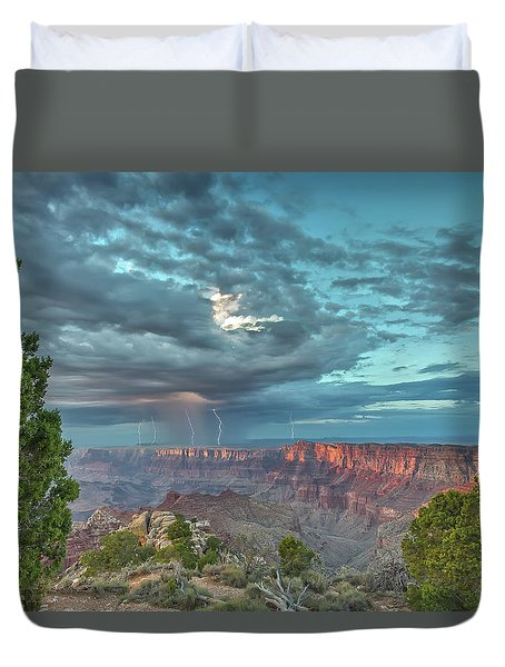 Natural Wonders Duvet Cover by James Menzies