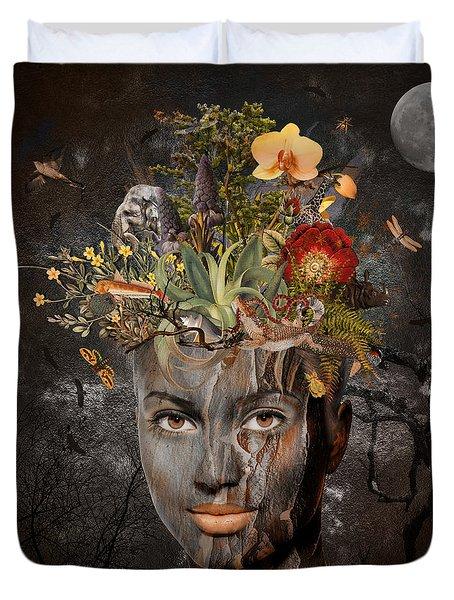 Naturalist Duvet Cover by Nola Lee Kelsey