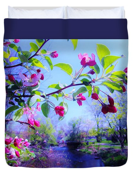 Nature Awakening Duvet Cover