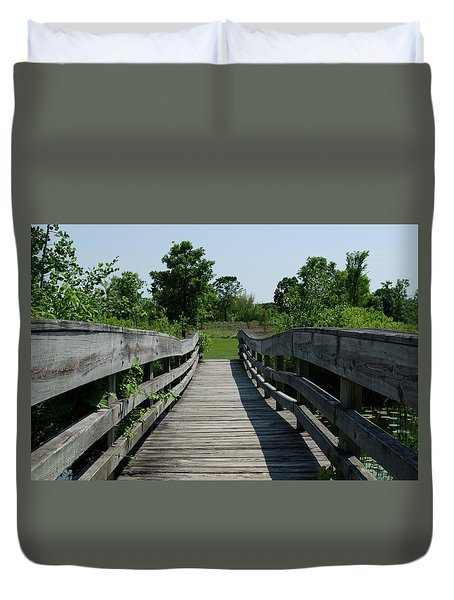 Nature Bridge Duvet Cover