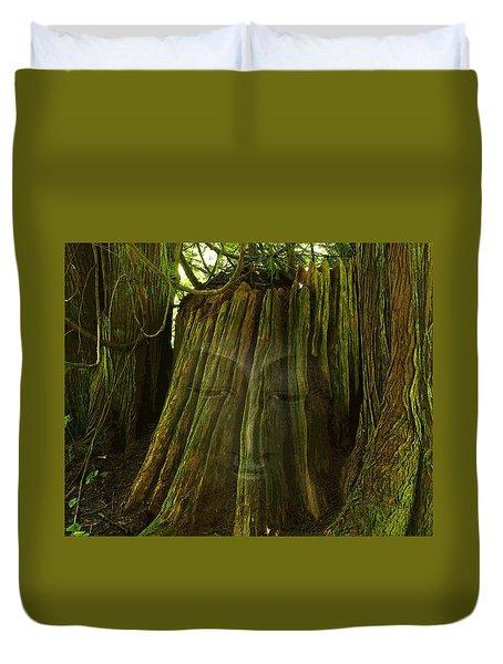 Nature Buddha Duvet Cover