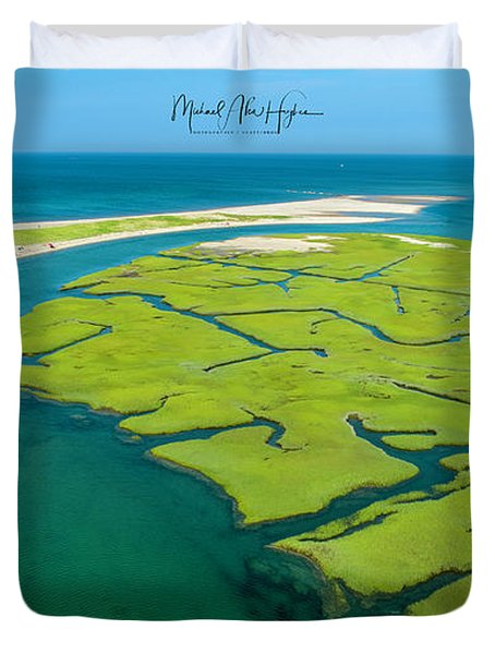 Nature Kayaking Duvet Cover