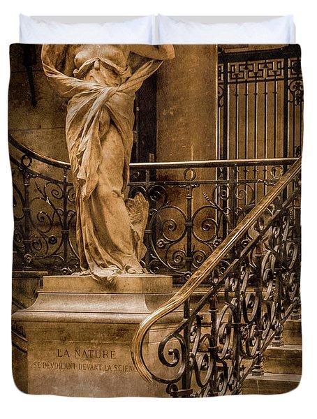 Paris, France - Nature Duvet Cover