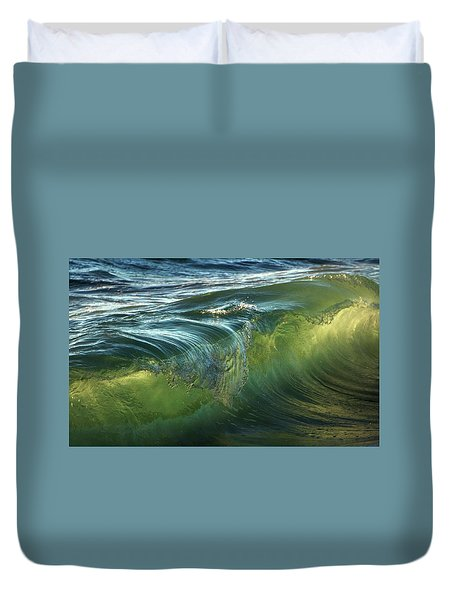 Duvet Cover featuring the photograph Nature Never Ceases To Amaze by Peter Thoeny
