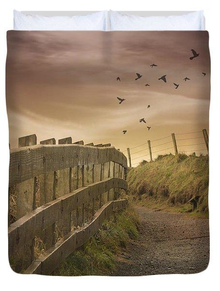 Nature Path Duvet Cover