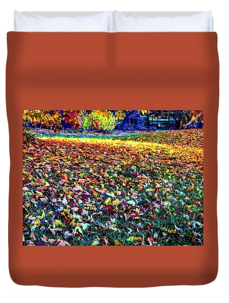 Nature Romancing Us Duvet Cover