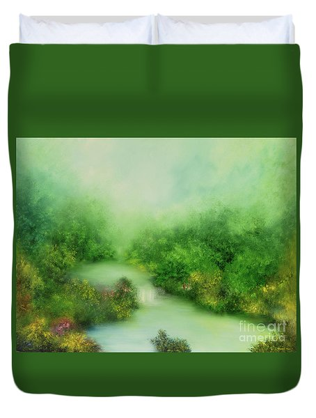 Nature Symphony Duvet Cover by Hannibal Mane