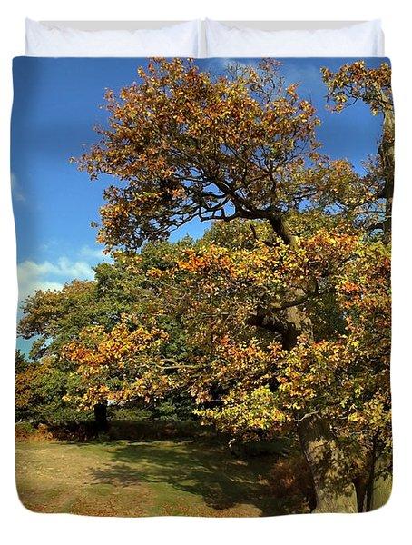 Nature The Golden Oak Duvet Cover
