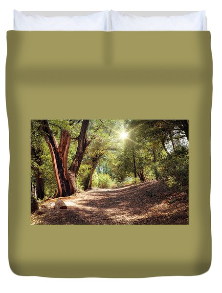 Nature Trail Duvet Cover