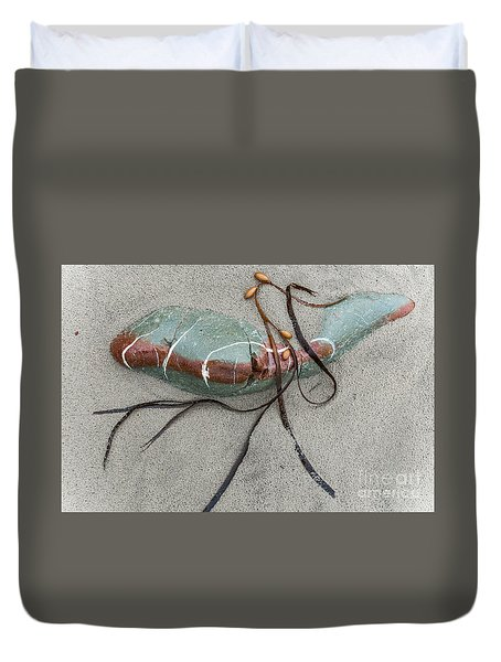 Duvet Cover featuring the photograph Nature's Art by Werner Padarin