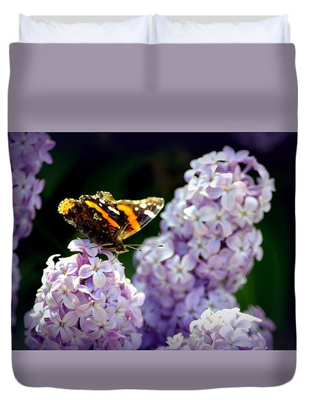 Nature's Beauty Duvet Cover by Clarice  Lakota