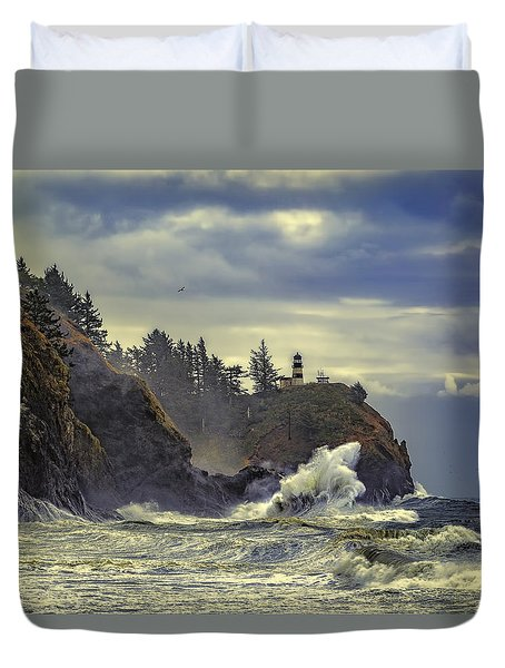 Natures Beauty Unleashed Duvet Cover by James Heckt