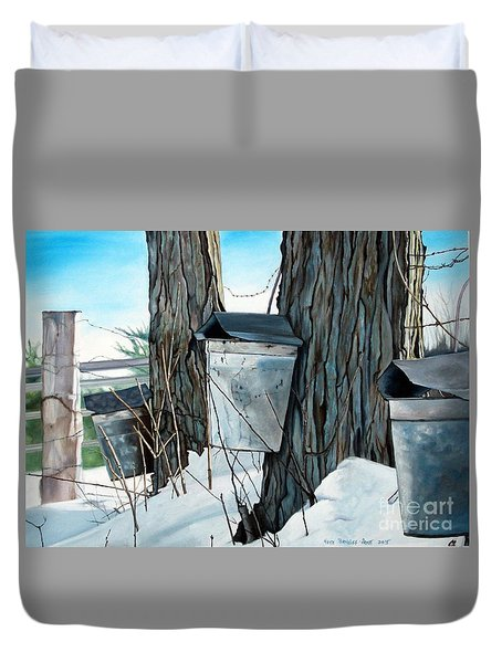 Nature's Candy Duvet Cover