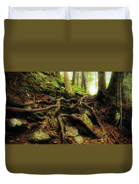 Nature's Cauldron Duvet Cover