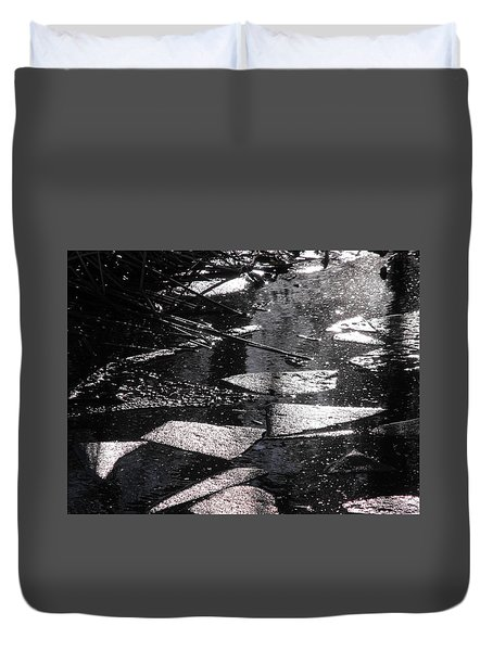 Nature's Cubism Duvet Cover