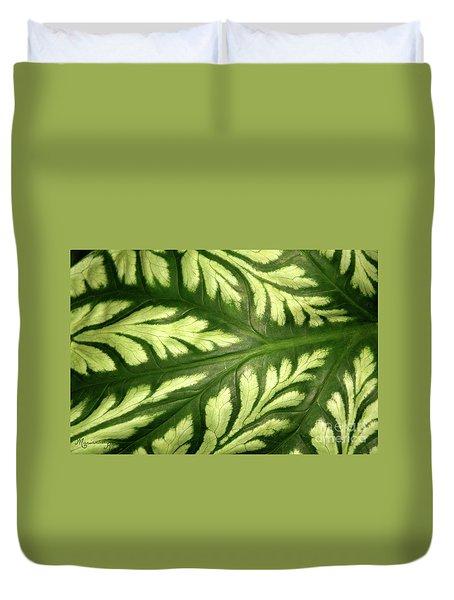 Nature's Design Duvet Cover by Mariarosa Rockefeller