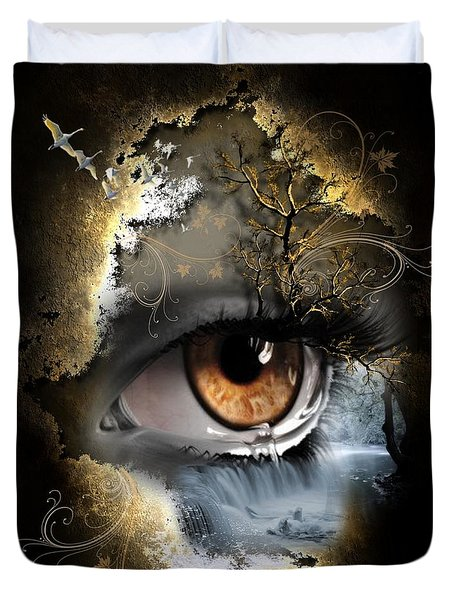 Natures Eye Duvet Cover