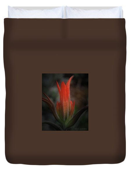 Nature's Fire Duvet Cover