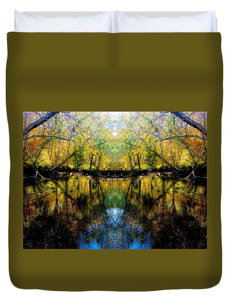 Natures Gate Duvet Cover