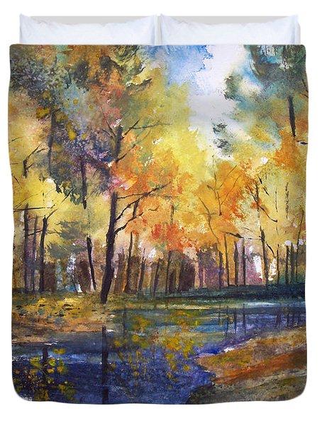 Nature's Glory Duvet Cover by Ryan Radke