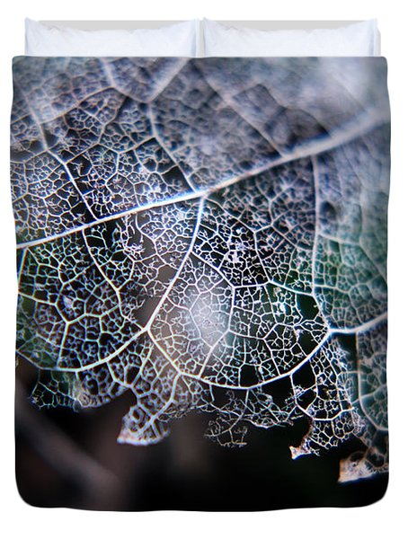 Nature's Lace Duvet Cover by Rebecca Davis