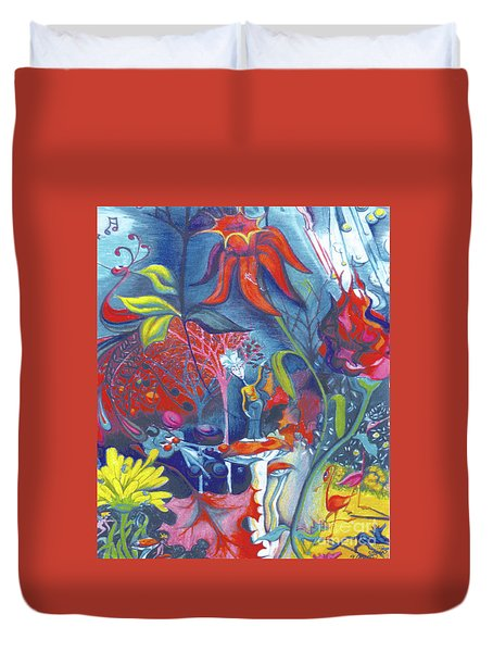 Natures Overature Duvet Cover by Genevieve Esson