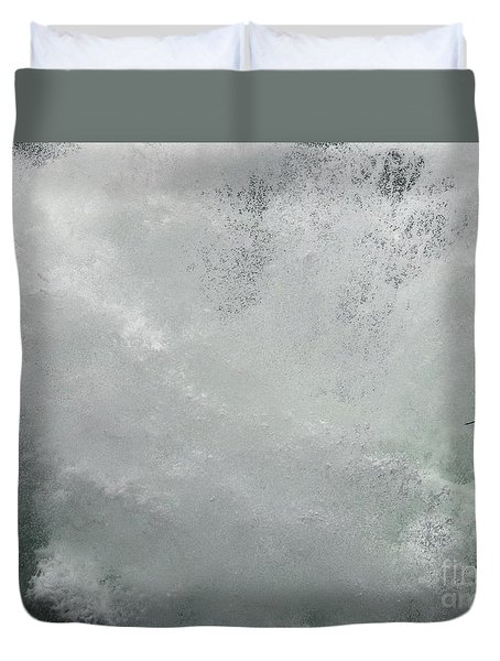 Duvet Cover featuring the photograph Nature's Power by Peggy Hughes