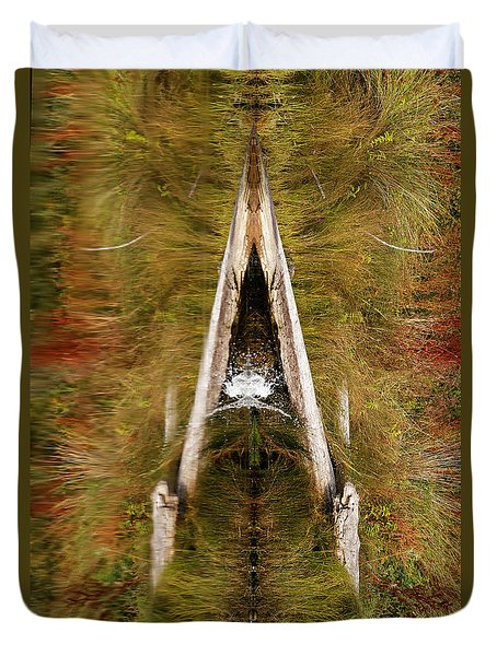 Natures Reflection Duvet Cover