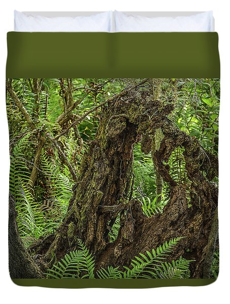 Nature's Sculpture Duvet Cover