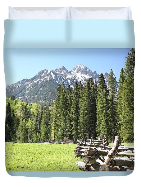 Nature's Song Duvet Cover