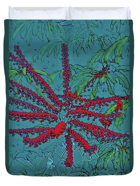 Nature's Starburst Duvet Cover by Craig Wood
