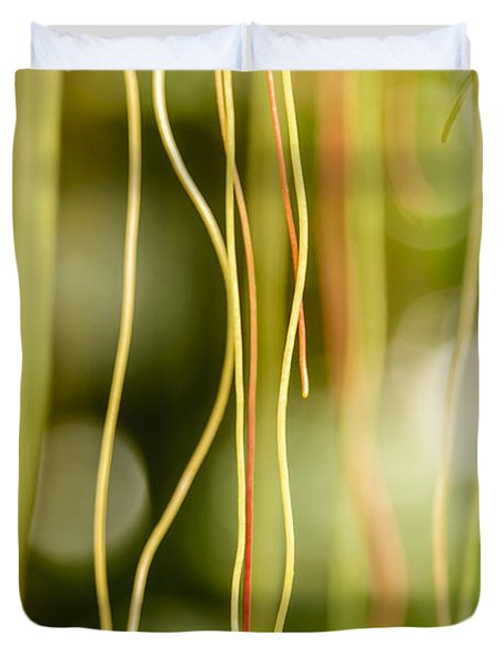 Nature's Strings Duvet Cover
